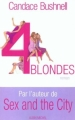 Couverture 4 blondes Editions Albin Michel 2001