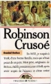 Couverture Robinson Crusoé Editions Presses pocket 1988