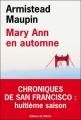 Couverture Chroniques de San Francisco, tome 8 : Mary Ann en automne Editions de l'Olivier 2011