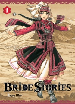 Couverture Bride stories, tome 01