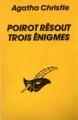 Couverture Le miroir du mort / Poirot résout trois énigmes Editions Librairie des  Champs-Elysées  (Le masque) 1989