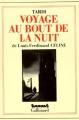 Couverture Voyage au bout de la nuit Editions Gallimard  (Futuropolis) 1996