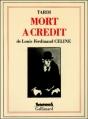 Couverture Mort à crédit Editions Gallimard  (Futuropolis) 1991