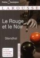 Couverture Le rouge et le noir Editions Larousse (Petits classiques) 2008