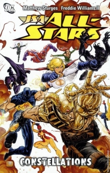 Couverture JSA All-Stars, book 1 : Constellations