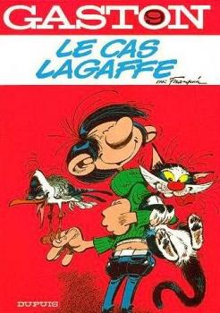 Couverture Gaston (1e série), tome 09 : Le cas Lagaffe