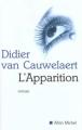 Couverture L'apparition Editions Albin Michel 2001
