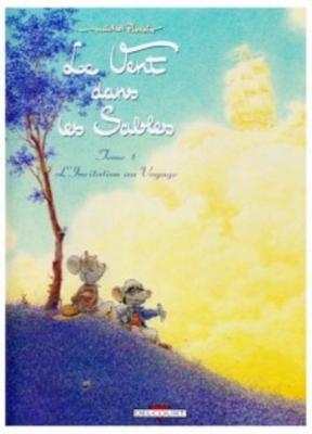 Couverture Le Vent dans les sables, tome 1 : L'Invitation au voyage