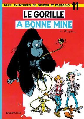 Couverture Spirou et Fantasio, tome 11 : Le gorille a bonne mine