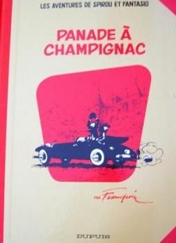 Couverture Spirou et Fantasio, tome 19 : Panade à Champignac