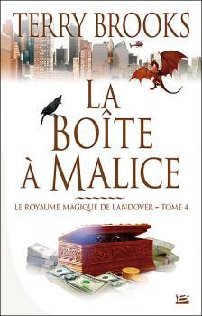 Couverture Le Royaume Magique de Landover, tome 4 : La Boîte à malice