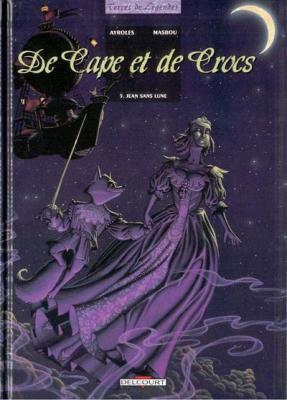 Couverture De cape et de crocs, tome 05 : Jean sans lune