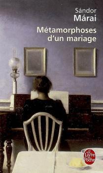 Couverture Métamorphoses d' un mariage