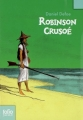 Couverture Robinson Crusoé Editions Folio  (Junior) 2008