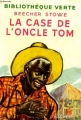 Couverture La case de l'oncle Tom Editions Hachette (Bibliothèque verte) 1953
