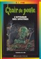 Couverture L'attaque des spectres Editions Bayard (Poche - Passion de lire) 1999