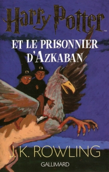 Couverture Harry Potter, tome 3 : Harry Potter et le prisonnier d'Azkaban