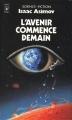 Couverture L'avenir commence demain Editions Presses pocket (Science-fiction) 1984
