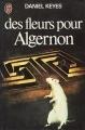 Couverture Des fleurs pour Algernon Editions J'ai Lu 1976