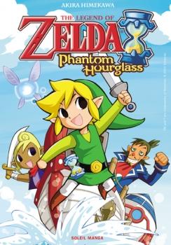 Couverture The legend of Zelda - Phantom Hourglass