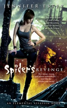 Elemental Assassin 5 Spider's Revenge Jennifer Estep