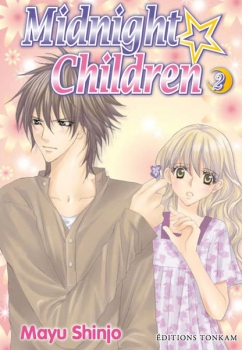 Couverture Midnight Children, tome 2