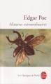Couverture Histoires extraordinaires Editions Le Livre de Poche (Les classiques de poche) 2010