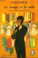 Couverture Le rouge et le noir Editions Le Livre de Poche (Classique) 1971