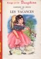 Couverture Les vacances Editions G.P. (Rouge et Or Dauphiné) 1965