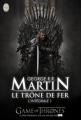 Couverture Le trône de fer, intégrale, tome 1 Editions J'ai Lu 2011