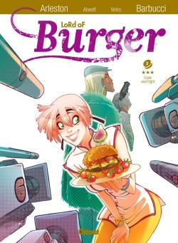 Couverture Lord of Burger, tome 3 : Cook and fight