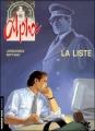 Couverture Alpha, tome 04 : La liste Editions Le Lombard (Troisième vague) 1999