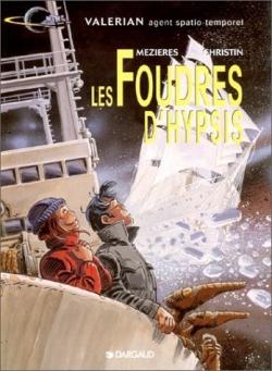 Couverture Valérian, Agent Spatio-temporel, tome 12 : Les Foudres d'Hypsis