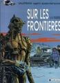 Couverture Valérian, Agent Spatio-temporel, tome 13 : Sur les frontières Editions Dargaud 1988