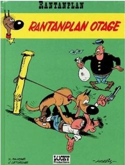 Couverture Rantanplan, tome 03 : Rantanplan otage