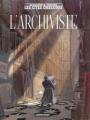 Couverture L'archiviste Editions Casterman 2000