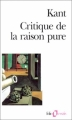 Couverture Critique de la raison pure Editions Folio  (Essais) 1990