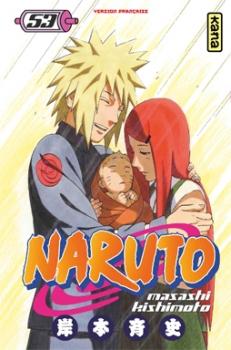 Couverture Naruto, tome 53