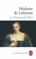 Couverture La princesse de Clèves Editions Le Livre de Poche (Les classiques de poche) 2000
