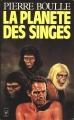 Couverture La Planète des singes Editions Presses pocket 1980