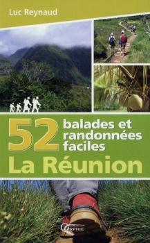 Couverture 52 balades et randonnées faciles : La Réunion