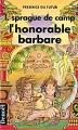 Couverture Xylar, tome 4 : L'honorable barbare Editions Denoël (Présence du futur) 1991