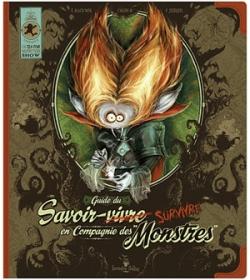 Couverture Guide du savoir-survivre en compagnie des monstres