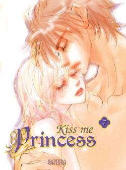 Couverture Kiss me princess, tome 7