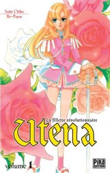 Couverture Utena : La fillette révolutionnaire, tome 1