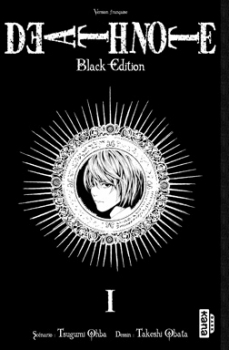 Couverture Death Note, black edition, tome 1