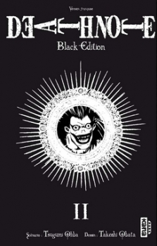 Couverture Death Note, black edition, tome 2