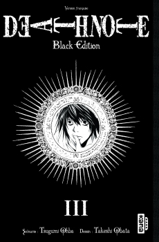 Couverture Death Note, black edition, tome 3