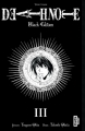 Couverture Death Note, black edition, tome 3 Editions Kana (Dark) 2010