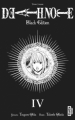 Couverture Death Note, black edition, tome 4 Editions Kana (Dark) 2011